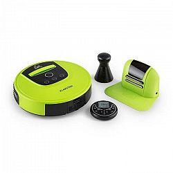 Klarstein Cleanhero, robotický vysávač, automatický, diaľkové ovládanie, zelený
