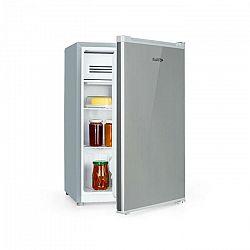 Klarstein Delaware, chladnička, A++, 76 litrov, 4-litrová mraziaca časť, kompresia, strieborná/sivá